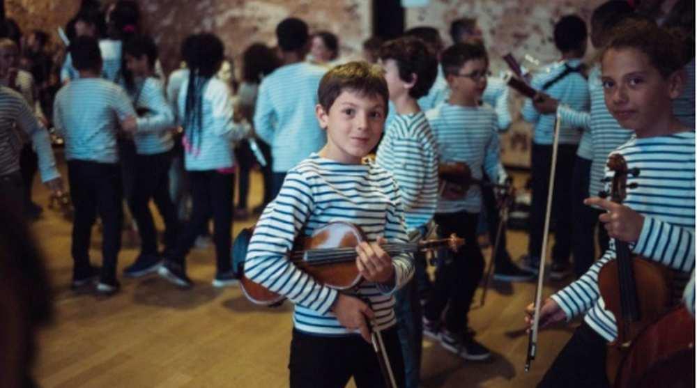 Toulouse. Démos, l'orchestre qui favorise l'accès à la musique pour les enfants Photo : Julien Mignot/dr