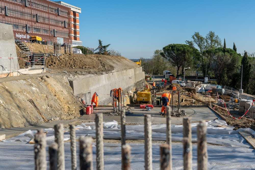Toulouse. Le chantier du téléphérique Téléo, prend son envol ctisseo/dr