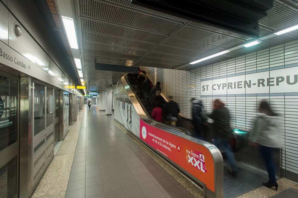 Toulouse. Une partie de la ligne A interrompue jusqu'à jeudi  cTisseo/dr