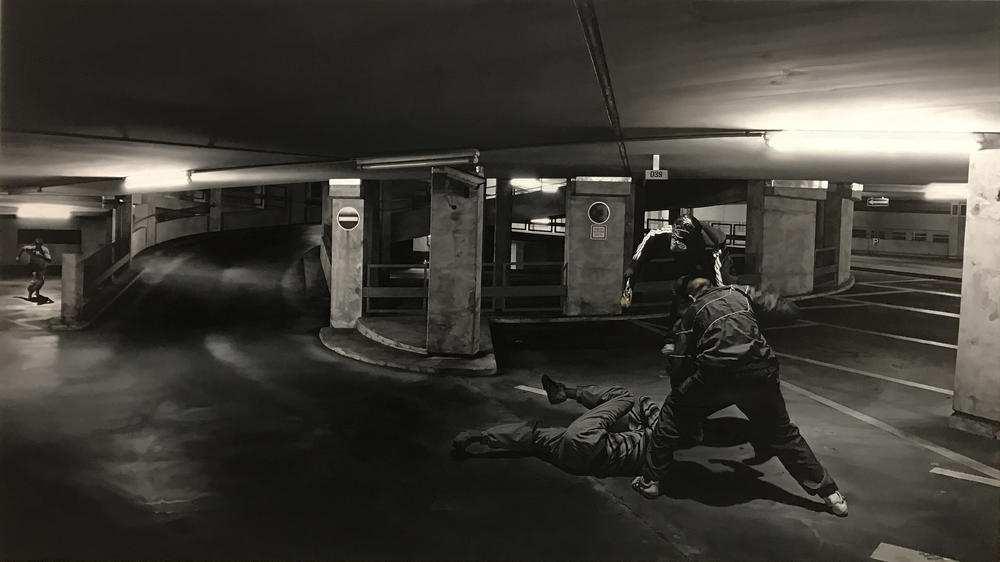 Guillaume Bresson © Guillaume Bresson et Galerie Nathalie Obadia