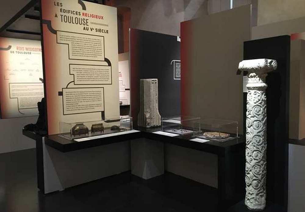 """Exposition """" Wisigoths rois de Toulouse """" au musée Saint-Raymond csaintraymond/dr"""