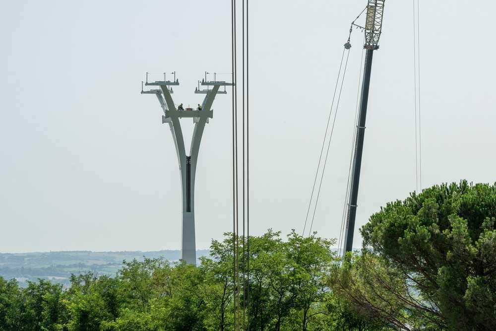 Toulouse. Le chantier du téléphérique en bonne voie cTisseo/dr