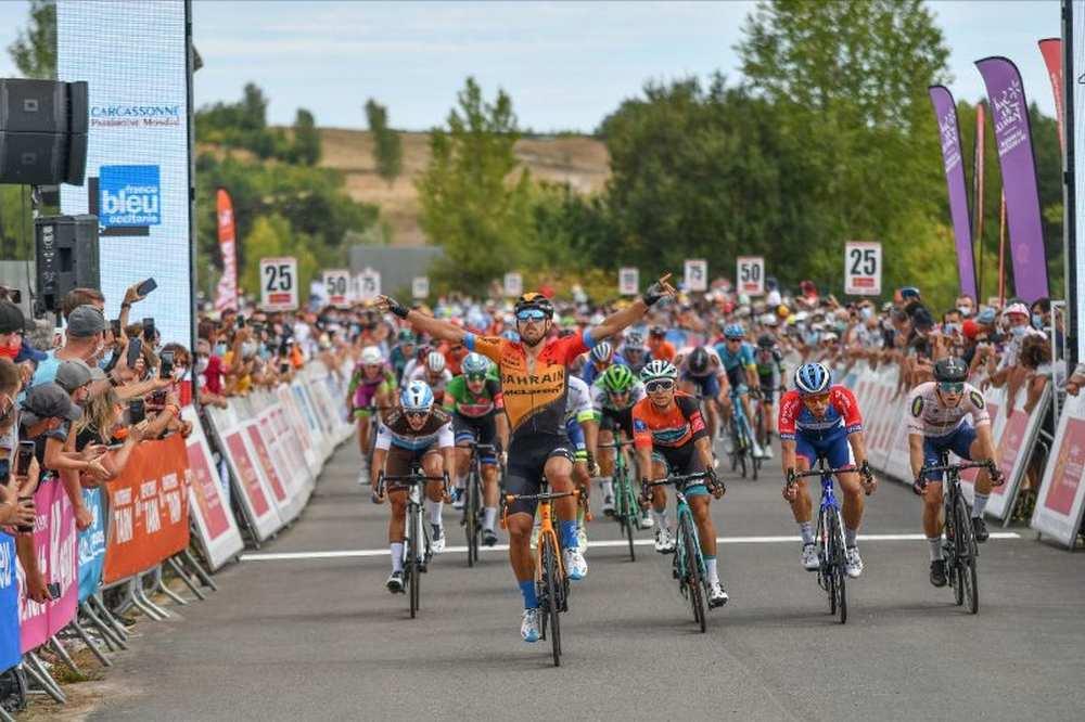 Route d'Occitanie. Victoire de Sonny Colbrelli à Cap'Découverte cdr