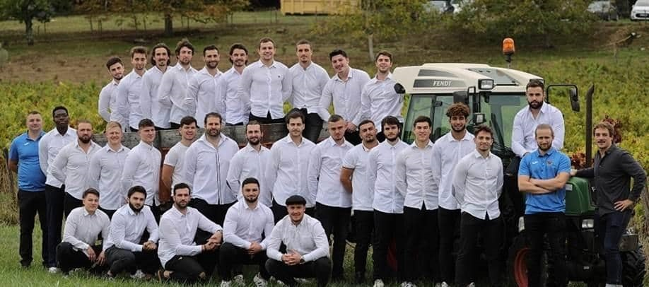 L'équipe du TO Elite lors de la journée de cohésion © Bernard Rieu/dr